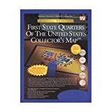 united 1st - First State Quarters of the United States Collector's Map - Limited Edition