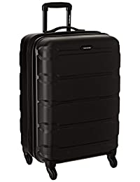 Samsonite Omni PC Hardside Spinner 24, Black, One Size