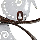 Deco 79 Metal Butterfly Decor Fills the Color of