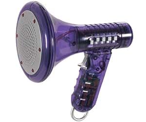 Distorsionador de voz con luces LED, 10 voces diferentes