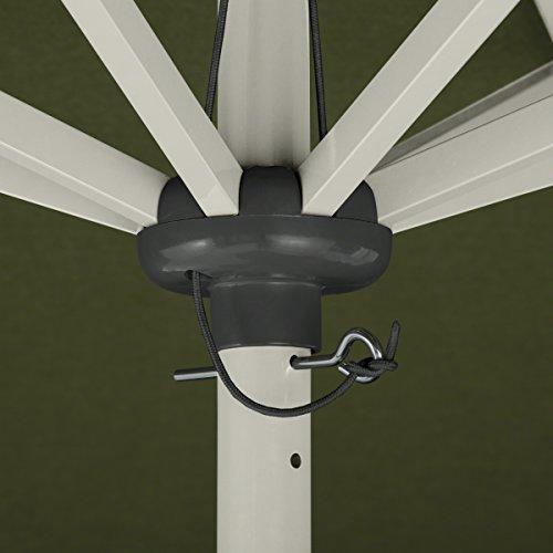Classic Accessories Montlake FadeSafe 9-Foot Round Aluminum Patio Umbrella, Heather Fern by Classic Accessories (Image #5)