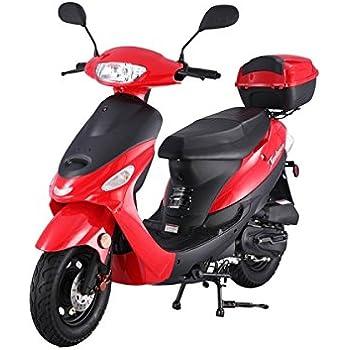 Amazon com: 50cc Gas Street Legal Scooter TaoTao ATM50-A1