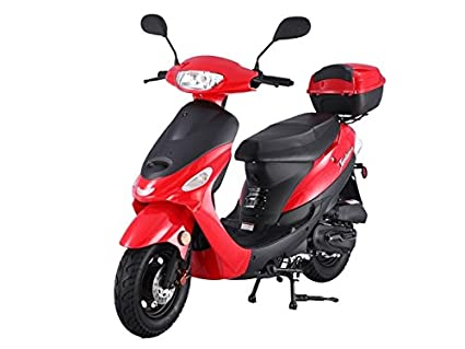 taotao atm 50a1 black 49cc gas automatic scooter moped w 10 inch steel rims  atm50 49cc scooter wiring diagram #10