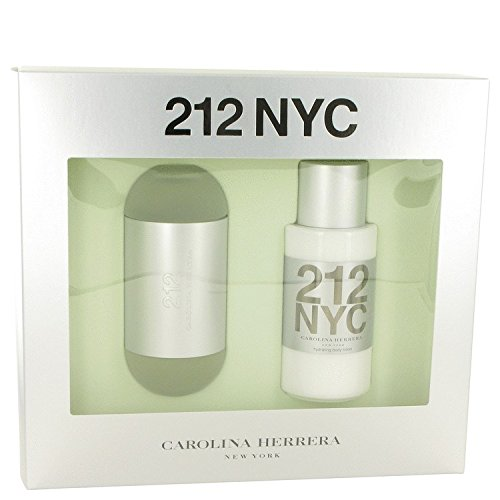 Carolina Herrera 212 Gift Set Eau de Toilette Spray 3.4 oz & Body Lotion 6.7 oz 2 pcs