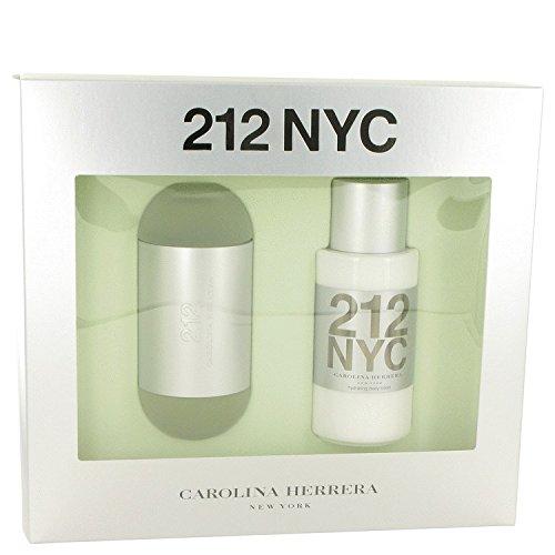 Carolina Herrera 212 Gift Set Eau de Toilette Spray 3.4 oz & Body Lotion 6.7 oz 2 pcs by Carolina Herrera (Image #1)
