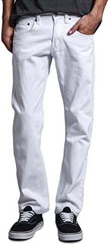 Victorious Mens Slim Fit Colored Stretch Jeans GS21