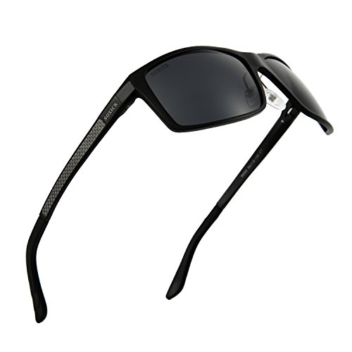 Soxick Classic Polarized Sports Sunglasses UV400 Protection for Driving Baseball Fishing Golf - Oval Glasses Men For Face Best