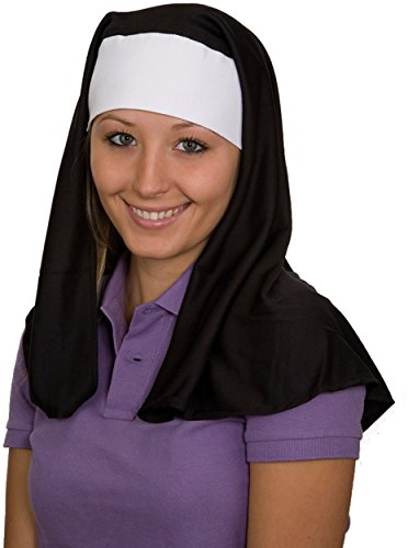 [NUN HEADPIECE] (Child Nun Costumes)
