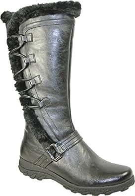 Amazon.com | KOZI Women Casual Winter Boot SD5503M Fur