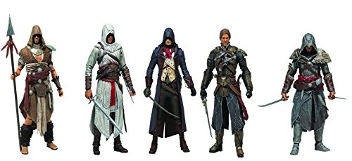 Assassin's Creed Series 3 Set of 5 Action Figures