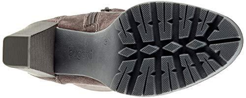 1100 11 Dark Ankle Boots 4 Women's Grey Bugatti 11581e tw8H8q