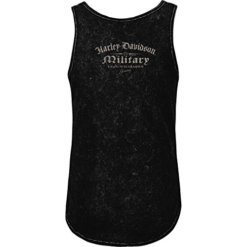 Harley-Davidson Military Women's Semi-Fitted Tank - USAG Wiesbaden | Matte Wings MD