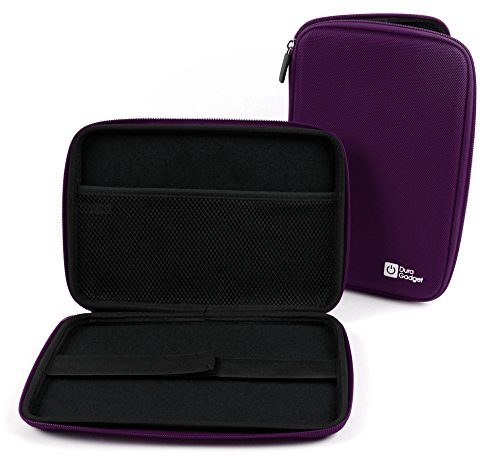 Photo - DURAGADGET Purple Rigid Protective Zip Armoured Case With Soft Inner Lining & Netted Pocket For Amazon Kindle HDX 8.9""