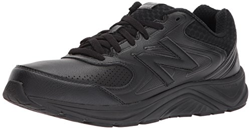 - New Balance Men's MW840v2 Walking Shoe, Black/Black, 15 4E US