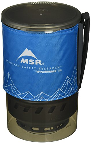 - MSR WindBurner 1.8L Accessory Pot (Blue)