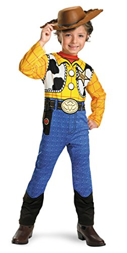 Boys Toy Story Woody Kids Child Fancy Dress Party Halloween Costume, M (7-10)