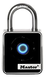 Master Lock Padlock, Bluetooth Lock, 1-2932 In. Wide, 4400d