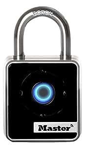Master Lock Padlock, Bluetooth Lock, 1-29/32 in. Wide, 4400D