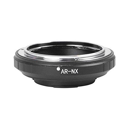 MENGS AR-NX Lens Mount Adapter Aluminum Alloy+Stainless Steel Konica AR SLR Lens to Samsung NX10, NX100, NX Mount Mirrorless Camera (Mount Konica)