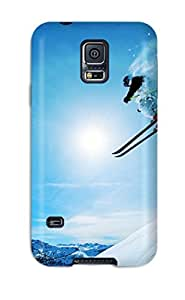 CaseyKBrown Snap On Hard Case Cover Snowboarding Protector For Galaxy S5