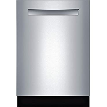 Bosch SHPM78W55N 24 800 Series Built In Fully Integrated Dishwasher with 6 Wash Cycles, in Stainless Steel