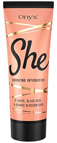 Onyx She – Intensifying Tanning Lotion – Bronzing Tan Maximizer for Women