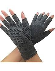 ECMQS Artritis handschoenen voor heren en dames, artritis, compressiehandschoenen, werkt pijnverlichtend bij reumatoïden, carpale tunnel voor computertypisering en werk