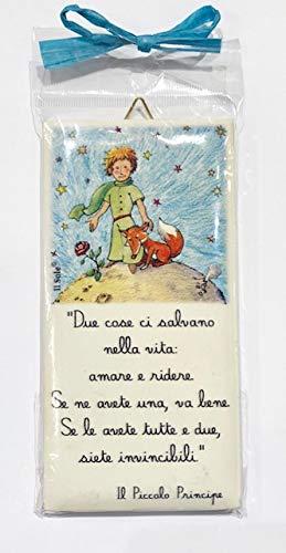 azulejo Rectangular con inscripción en Italiano 4 piezas con ...