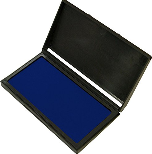 2000 PLUS Stamp Pad, Gel, Size #1, Blue Ink (030255)
