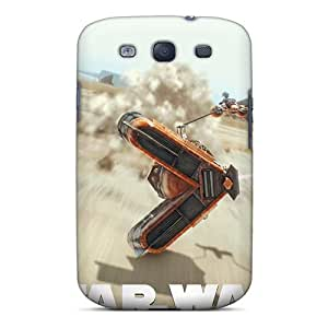 BhE2160tsPb Tpu Phone Cases With Fashionable Look For Galaxy S3 - Star War Episode I 3d Black Friday