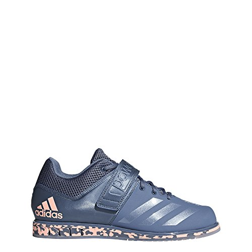 adidas Men's Powerlift.3.1 Cross Trainer, raw Steel/Clear Orange, 12 M US ()