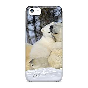 lintao diy High Quality Shock Absorbing Case For Iphone 5c-belos Ursos