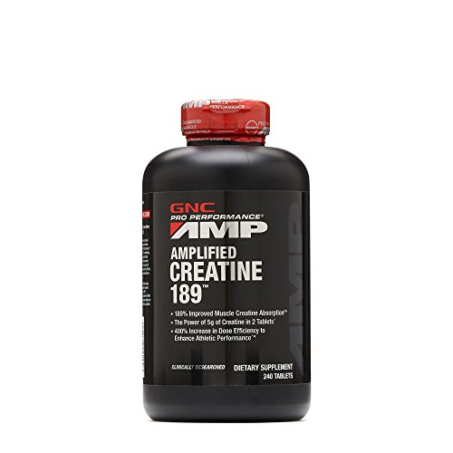 GNC Pro Performance AMP Amplified Creatine 189 Supplement, 240 Count