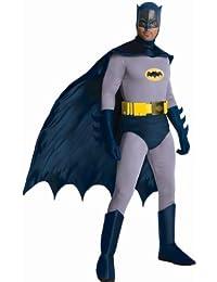 Rubies Costume Grand Heritage Classic TV Batman Circa 1966, Black/Gray