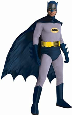 Rubieu0027s Grand Heritage Classic TV Batman Circa 1966 Blue/Gray X-large  sc 1 st  Amazon.com & Amazon.com: Rubieu0027s Costume Grand Heritage Classic TV Batman Circa ...