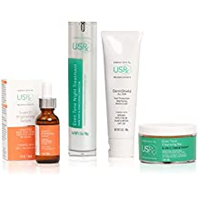 Urban Skin Rx Dark Spot Essentials Package Brightening Dull Complexion and Fighting Discoloration, Skin Care Set