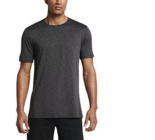 NIKE Mens Breathe Dri-Fit Short Sleeve Training Shirt 832835 (XX-Large, Anthracite/Dark Grey-Metallic Hermatite)