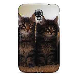 Galaxy S4 Hard Back With Bumper Silicone Gel Tpu Case Cover Four Adorable Bonilla Felines For Carmen