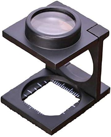 ZY-YY 1インチ光学凸メタルフォト鏡、デスクトップグラス、読書、新聞マップ、コイン、ジュエリー、趣味や工芸品に適し