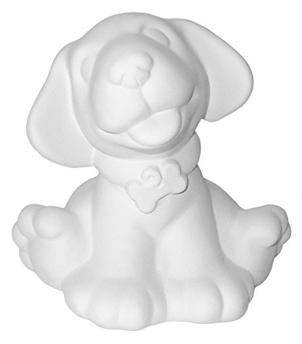 Dogs Rule - Paint Your Own Ceramic Keepsake Unpainted Ceramic Figures