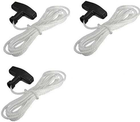 Recoil Starter Pull Start Cord Rope Suitable For Most Lawn Mower Engine Replace