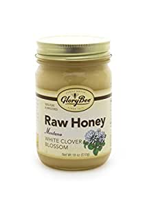 Raw Montana White Clover Blossom Honey