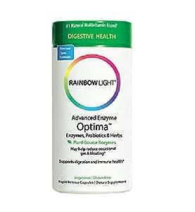 Amazon Com Rainbow Light Advanced Enzyme Optima 90 Count