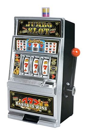 Lucky Sevens Jumbo Slot Machine Bank Replica (Bank Slot Jumbo)
