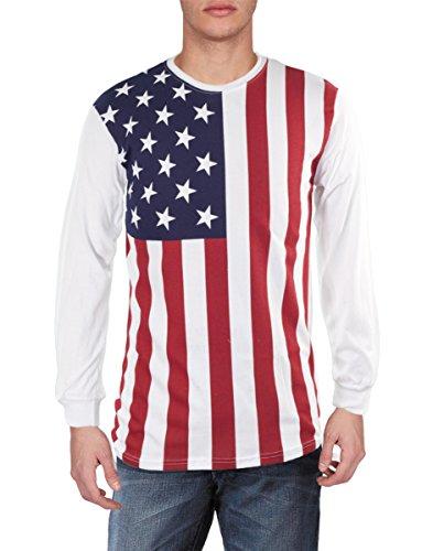 Mens-USA-Flag-Long-Sleeve-Shirt