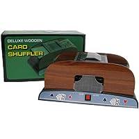 Trademark Poker Mezclador automático de cartas para 4 barajas
