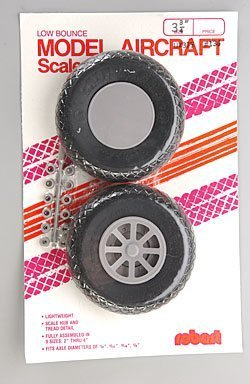 Robart Manufacturing UX375-Scale Diamond Tread Wheels by Robart