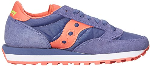 Jazz Purple Donna Scarpe Basse Purple Coral Original Light da SauconySaucony Ginnastica 0wdY0