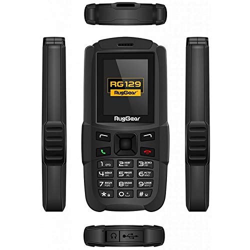 The New RugGear RG129 Compact Outdoor and Waterproof Mobile Phone  - Dual...