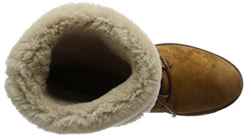 Women's cognac Combat Brown Amsterdam 184020002 Boots Shabbies SnxHPdwqCP